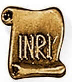 Tabliczka INRI
